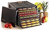 Excalibur 9 bandejas sin temporizador negro – Deshidratador alimentario