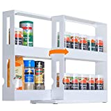 UHAPEER Especiero Extensible Soportes, Estante Especias y Condimentos, para Cocina