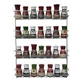Copa Design Especiero - Especiero Cocina - Organizador Especias con 4 Niveles - Especiero Cocina Pared - Estante Especias para Macetas - Muy Fácil de Instalar - Recipientes para Especias no Incluidos - 50 x 40,5 x 6 cm