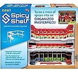 Spicy Shelf Estante especiero y Organizador apilable para Especias