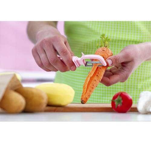 Cómo elegir un buen pelador de verduras y frutas