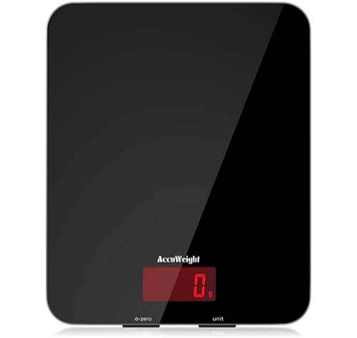 ACCUWEIGHT Báscula Digital de Cocina 5kg