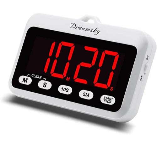 DreamSky Temporizador Digital para Cocina con Alarma