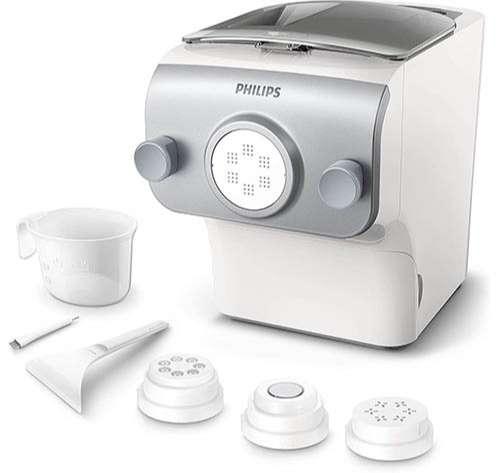 Philips Máquina de Hacer Pasta Fresca, 4 Variedades de Pasta