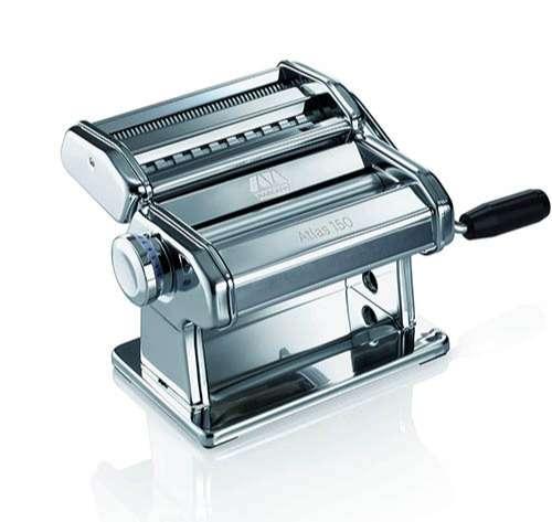 Marcato Atlas 150 máquina para hacer pasta, color plateado