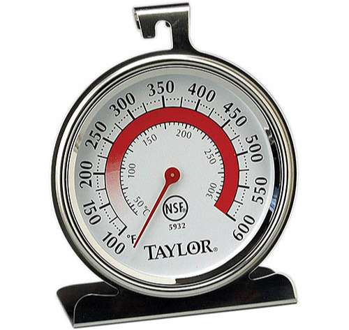 Taylor Recisión termómetro para horno