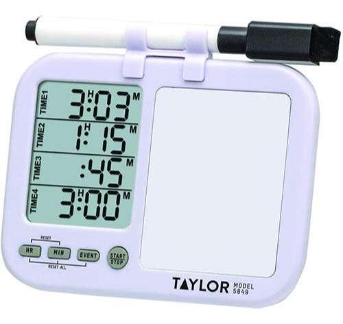 Taylor Precision cronómetro para cocina