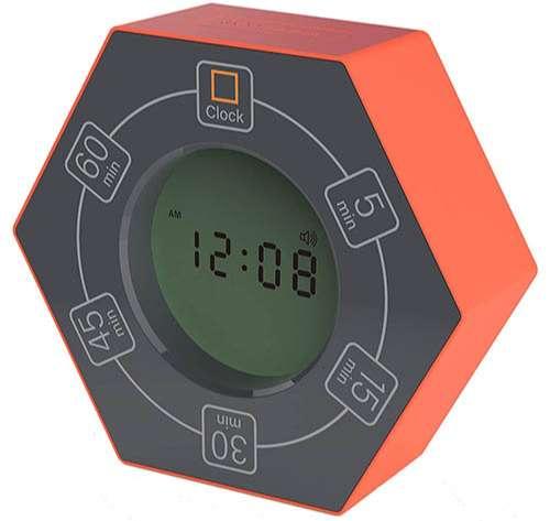 Temporizador hexagonal intermitente