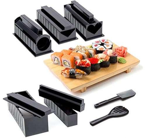 Kit Completo para Hacer Sushi de 11 piezas