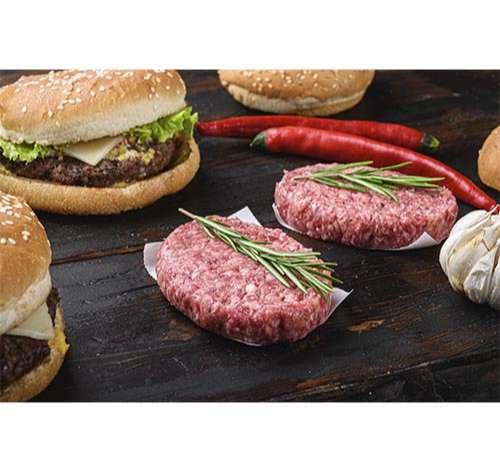 Prensar hamburguesas caseras