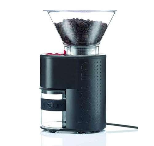 Bodum - Molinillo de café de color negro