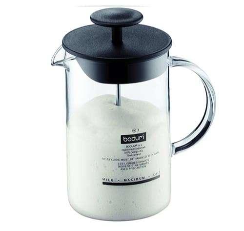 Bodum Latteo - espumador de leche con asa de cristal