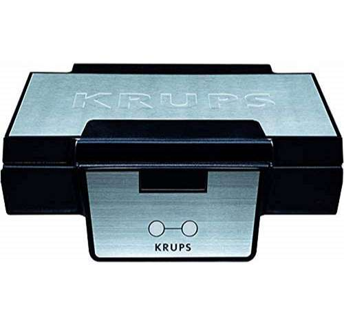Krups FDK 251 Gofrera de 850 W de acero inoxidable