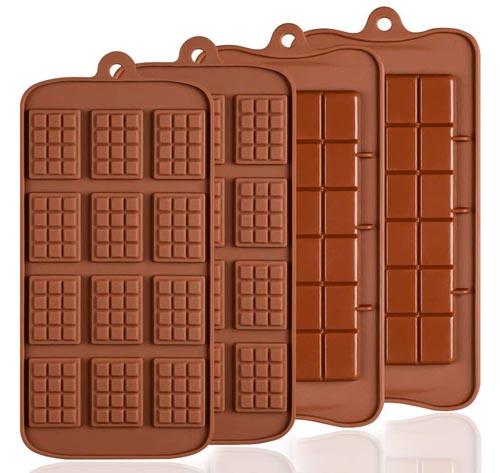 moldes de silicona para chocolate